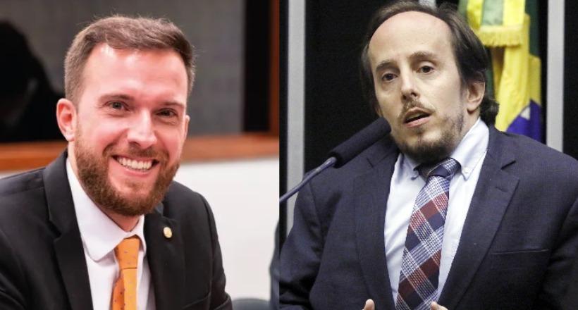 Deputados Vinícius Poit e Paulo Ganime
